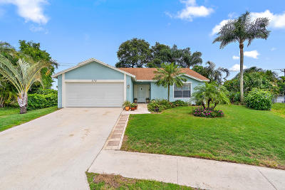 Jupiter Single Family Home For Sale: 172 Greentree Circle