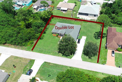 Port Saint Lucie Single Family Home For Sale: 4263 SW Utterback Street