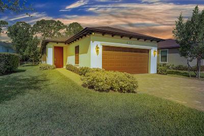 Port Saint Lucie Single Family Home For Sale: 113 SE Via Visconti