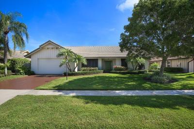 Palm Beach Gardens Single Family Home For Sale: 12977 La Rochelle Circle