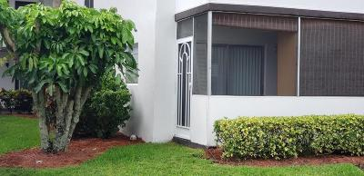 Delray Beach Condo For Sale: 975 Normandy U #U
