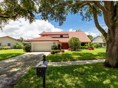 Boca Raton Single Family Home For Sale: 3436 Pine Haven Circle Circle