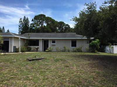 Fort Pierce Single Family Home For Sale: 7603 Penny Lane