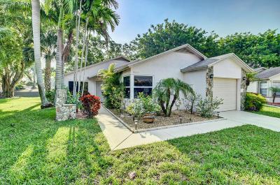 Boca Raton Single Family Home For Sale: 9043 Chatsworth Cascades