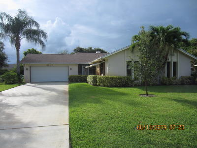 Fort Pierce Single Family Home For Sale: 5707 Eagle Drive
