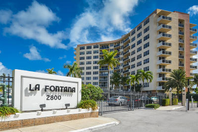 West Palm Beach Condo For Sale: 2800 Flagler Drive #711