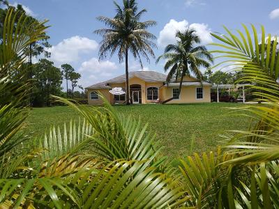 West Palm Beach Single Family Home For Sale: 12629 89th Place