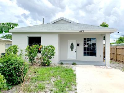 Lake Worth Single Family Home For Sale: 1192 Alto Road