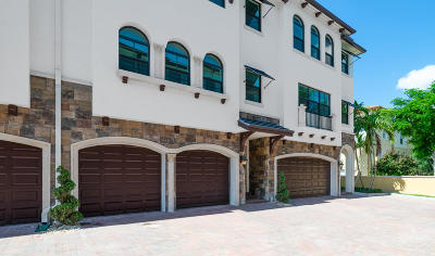 Boynton Beach Townhouse For Sale: 3 Windward Lane #22