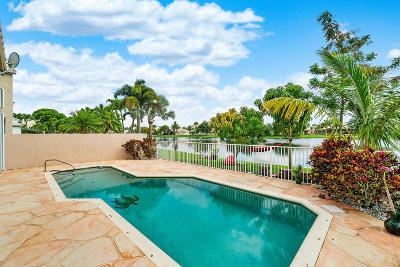 Lake Worth Single Family Home For Sale: 7509 Ridgefield Lane