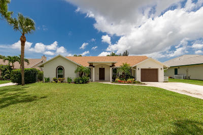 Lake Worth Single Family Home For Sale: 5341 Canal Drive