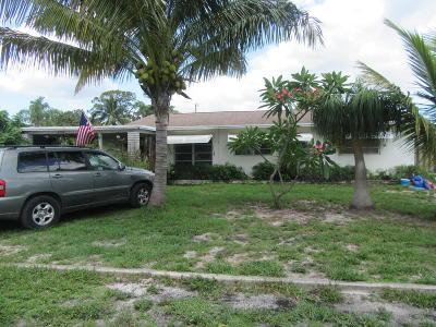 Lake Worth Single Family Home For Sale: 2028 Collier Avenue