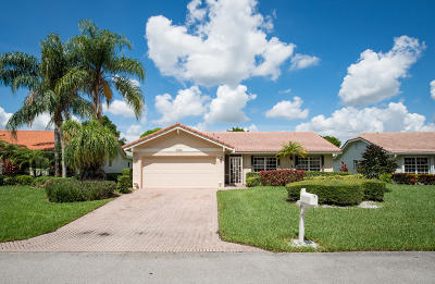 Boca Raton Single Family Home For Sale: 7791 Cloverfield Circle