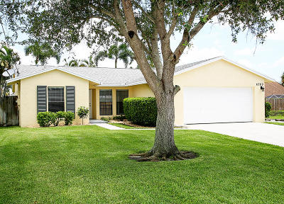 Jupiter Single Family Home For Sale: 6289 Michael Street