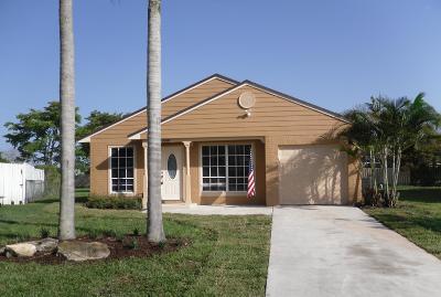 Boynton Beach Single Family Home Contingent: 5688 Pebble Brook Lane