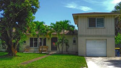 Stuart Single Family Home For Sale: 620 SE 5th Street