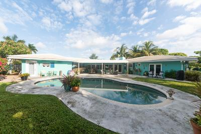 Delray Beach Single Family Home For Sale: 530 Lake Drive