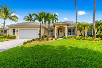 Palm City Single Family Home Contingent: 2580 SW Hidden Pond Way