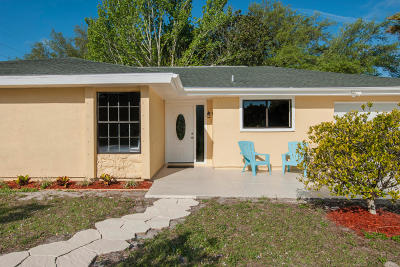 Vero Beach Single Family Home Contingent: 2495 11th Court SW