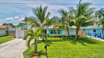 Boynton Beach Single Family Home For Sale: 1125 SW 25th Avenue