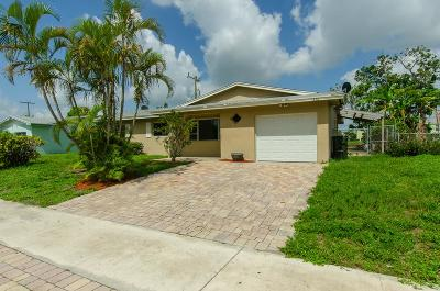 Delray Beach Single Family Home For Sale: 1326 SW 22nd Avenue