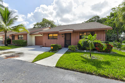 Coconut Creek Single Family Home For Sale: 4748 Satinwood Trail