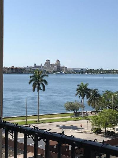 West Palm Beach Condo For Sale: 1801 Flagler Drive #714