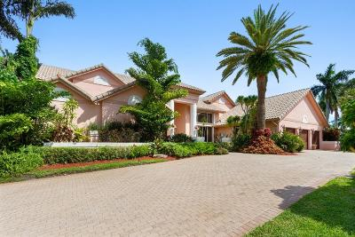 Boca Raton Single Family Home For Sale: 7202 Ayrshire Lane