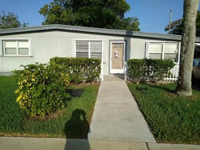 Royal Palm Beach Single Family Home Contingent: 711 Hibiscus Drive