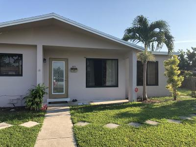 Sunrise Single Family Home For Sale: 6211 NW 14th Court NW