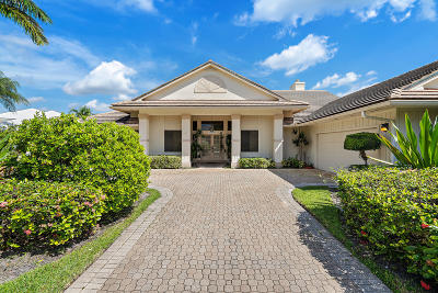 Palm Beach Gardens FL Single Family Home For Sale: $675,000