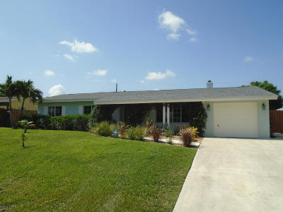 Palm Beach Gardens FL Single Family Home For Sale: $395,000