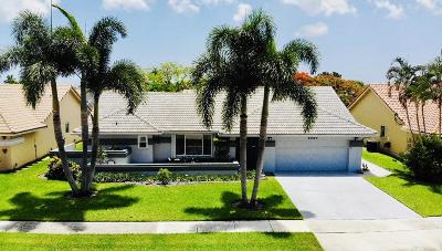 Boynton Beach Single Family Home For Sale: 9680 Majestic Way