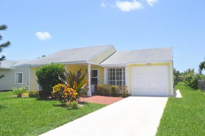 Boynton Beach Single Family Home For Sale: 9039 Woodlark Terrace