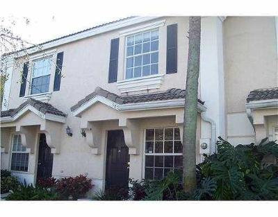 West Palm Beach Townhouse For Sale: 5059 Palmbrooke Circle
