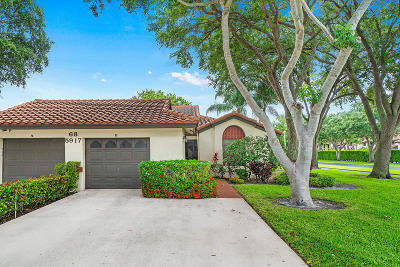 Boynton Beach Single Family Home For Sale: 5917 Winter Lake Lane #B