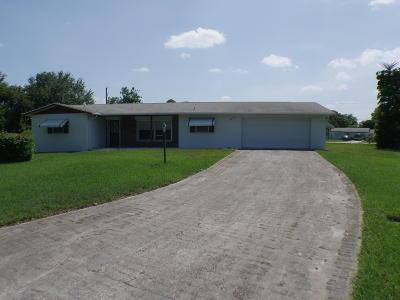 Jensen Beach Single Family Home Contingent: 1250 NE 29th Terrace