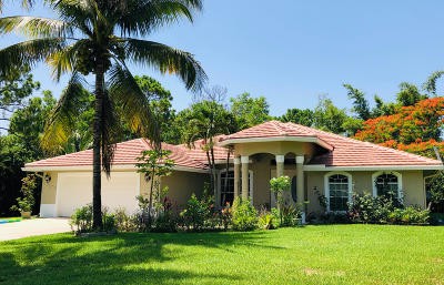 West Palm Beach Single Family Home For Sale: 12207 79th Court