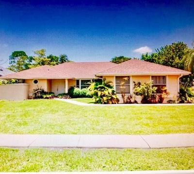 West Palm Beach Single Family Home For Sale: 13679 Callington Drive