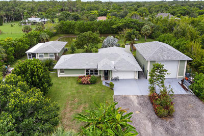 Jupiter Single Family Home For Sale: 15305 92nd Way