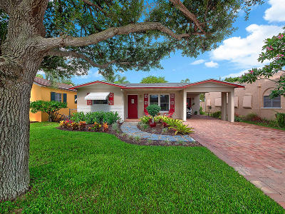 Lake Worth Single Family Home Contingent: 1115 Palmway