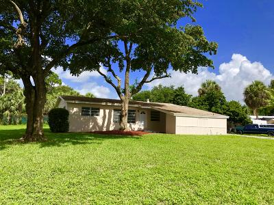 West Palm Beach Single Family Home For Sale: 151 Henning Drive