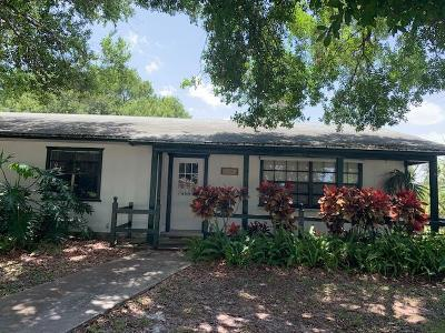 Fort Pierce Single Family Home Contingent: 5401 Palm Drive