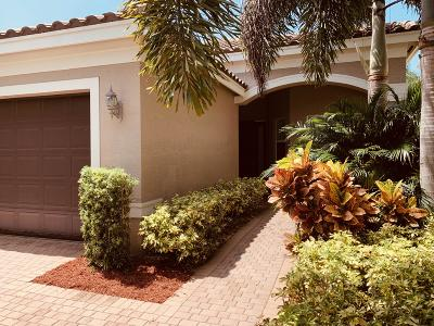 Boynton Beach Single Family Home Contingent: 8259 Calabria Lakes Drive