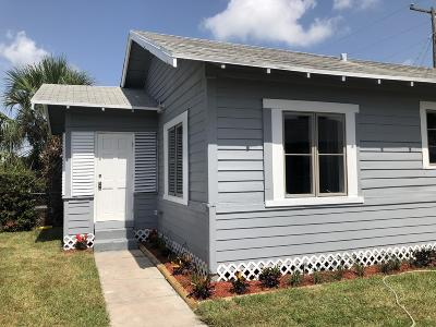 West Palm Beach Single Family Home For Sale: 515 16th Street