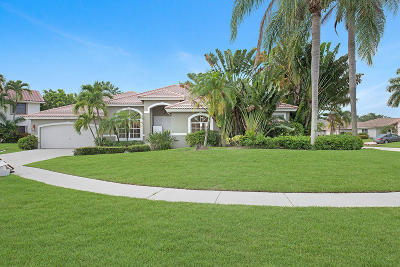 Boca Raton Single Family Home For Sale: 22949 Greenview Terrace