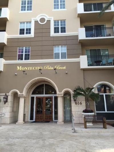 West Palm Beach Condo Contingent: 616 Clearwater Park Road #708
