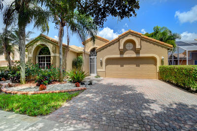 Boynton Beach Single Family Home For Sale: 10087 Diamond Lake Drive
