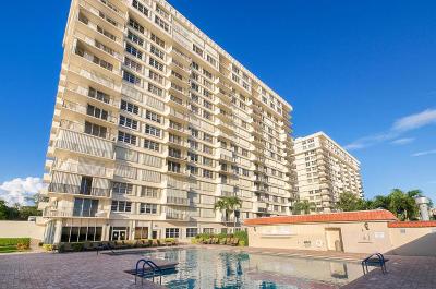 Boca Towers, Boca Towers Condo, Boca Towers Condo Portion Condo For Sale: 2121 Ocean Boulevard #1204w