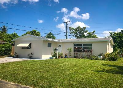 West Palm Beach Single Family Home For Sale: 5286 Harriet Pl Place